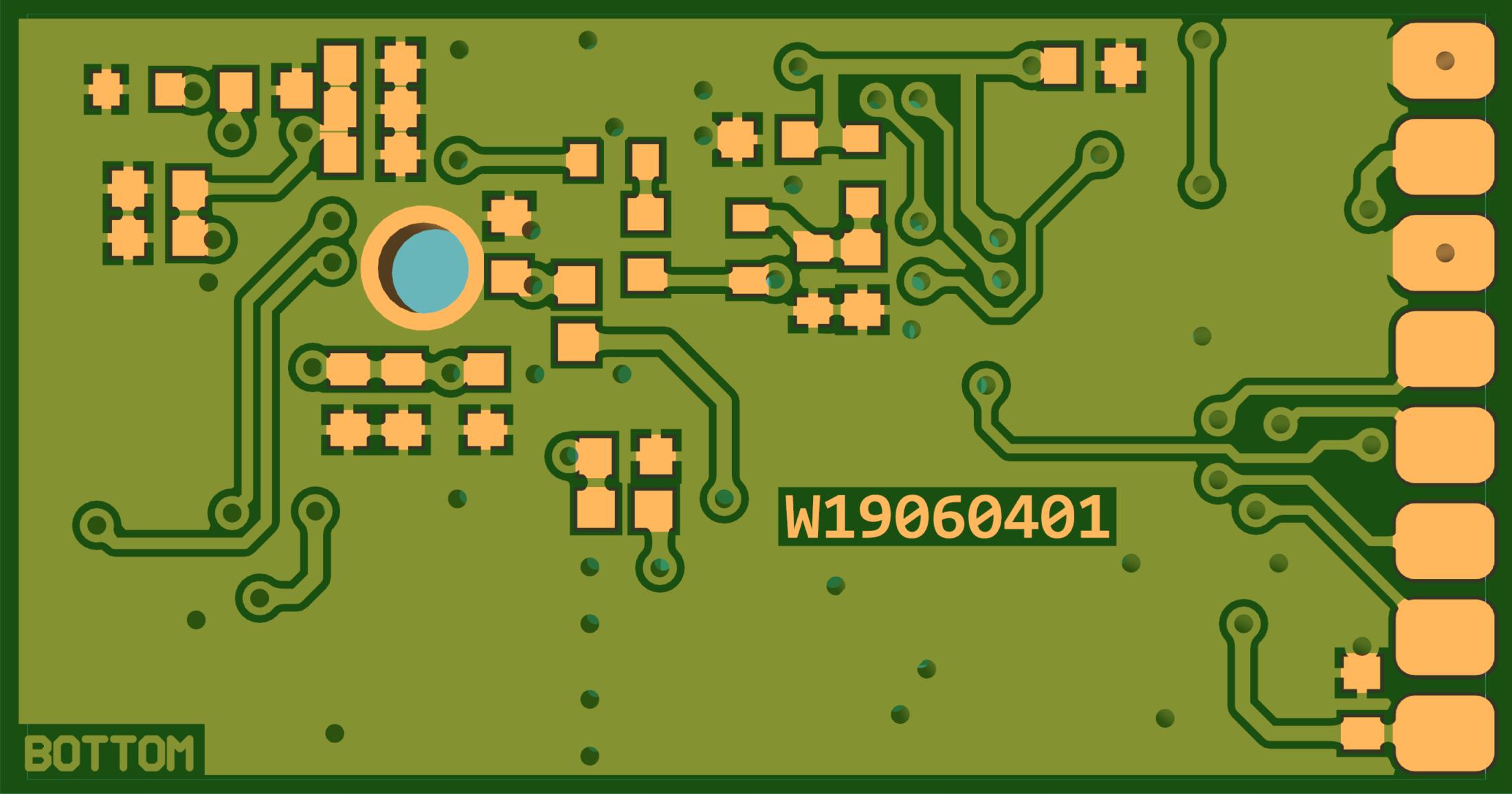 DDS9952-module-PCB-BOT