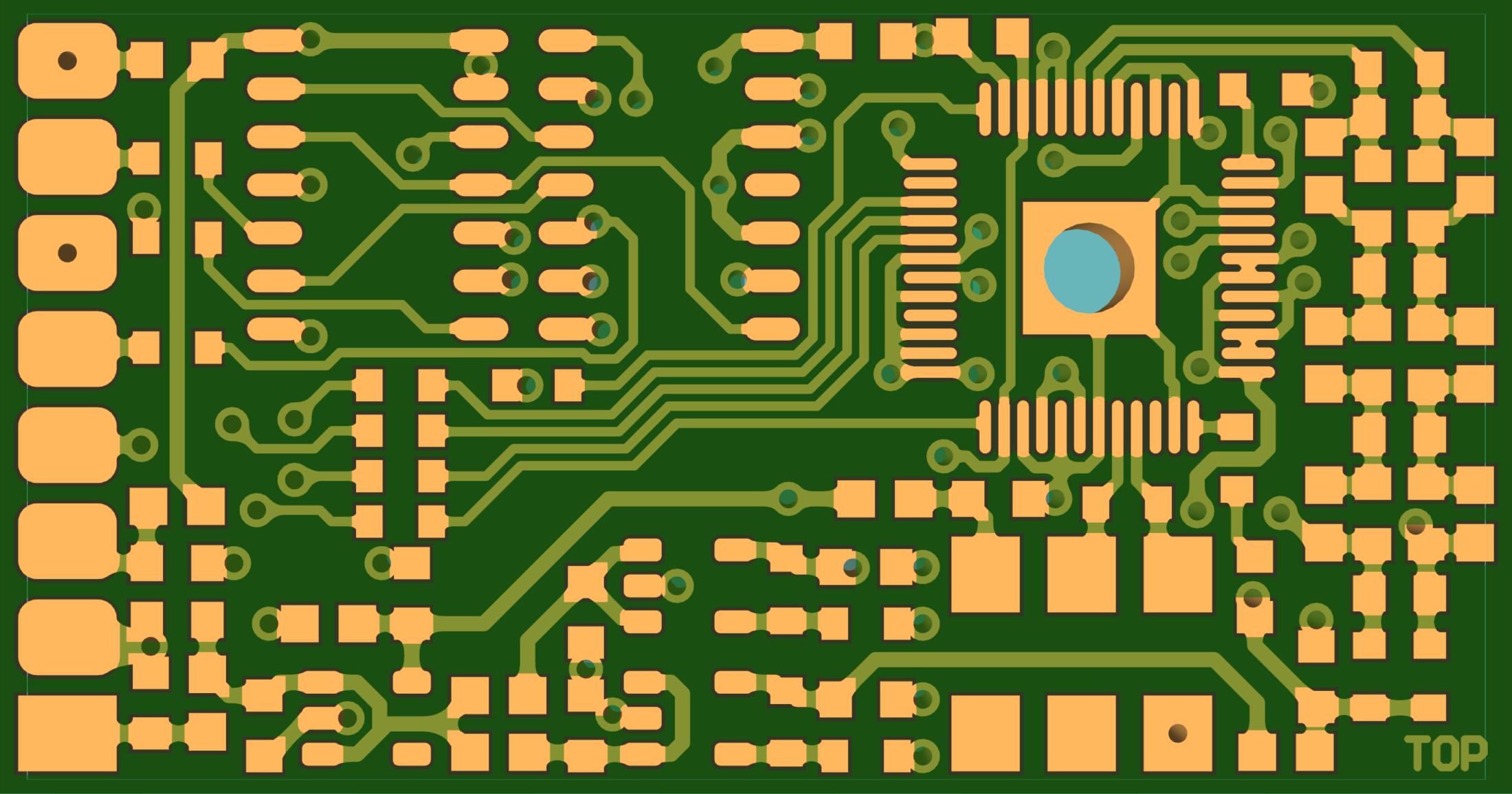 DDS9952-module-PCB-TOP