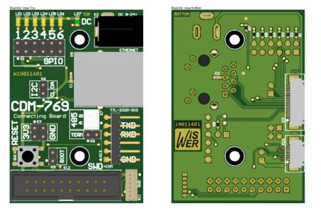 CDM-769 CB Assembled Realistic