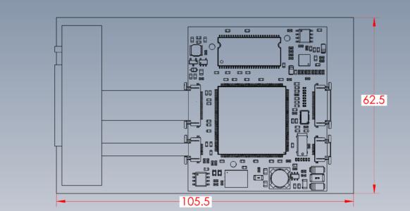 CDM-769 Dimensions