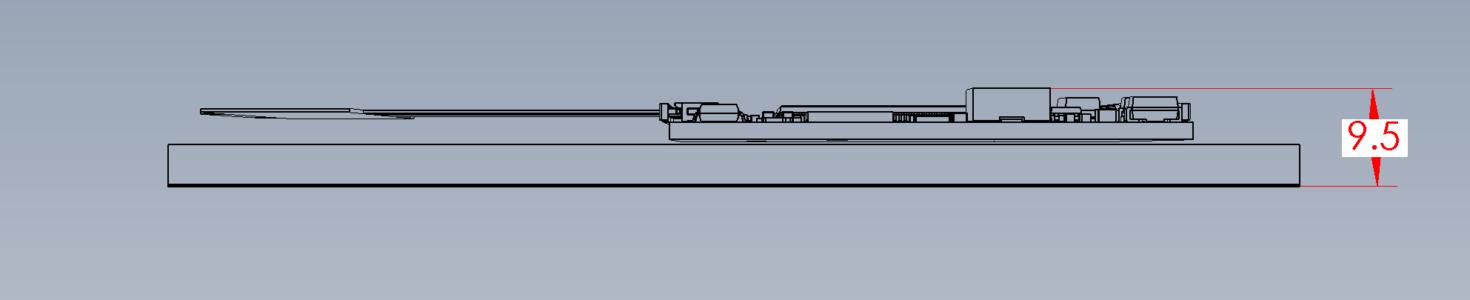 CDM-769 Dimensions Depth