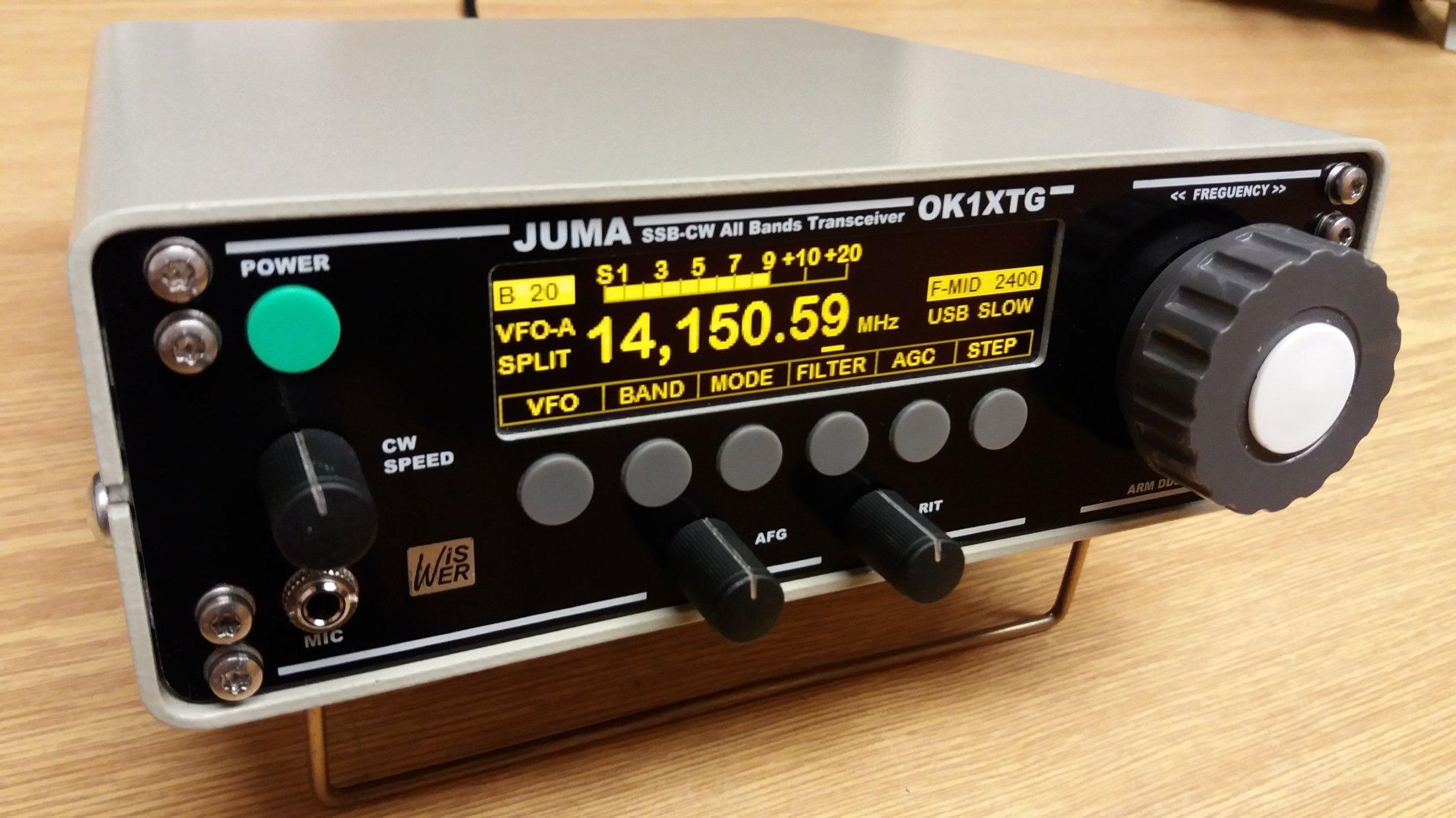 KV transceiver JUMA-TRX2